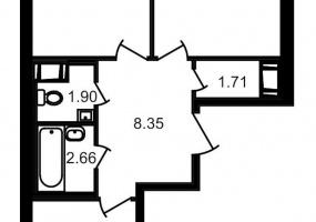 ул. Шоссе в Лаврики4, 2 Комнаты Комнаты,Квартира,Купить,ул. Шоссе в Лаврики,11,12778