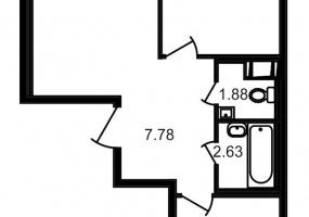 ул. Шоссе в Лаврики4, 2 Комнаты Комнаты,Квартира,Купить,ул. Шоссе в Лаврики,4,12784