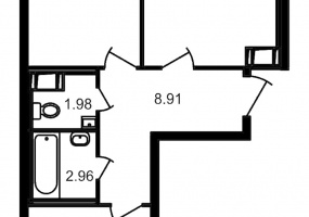 ул. Шоссе в Лаврики5, 2 Комнаты Комнаты,Квартира,Купить,ул. Шоссе в Лаврики,4,12873