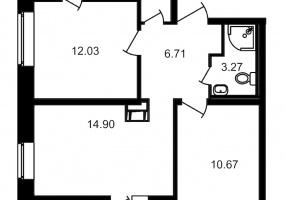 ул. Шоссе в Лаврики5, 2 Комнаты Комнаты,Квартира,Купить,ул. Шоссе в Лаврики,12,12881