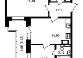 ул. Невзоровой2, 2 Комнаты Комнаты,Квартира,Купить,ул. Невзоровой,3,12983