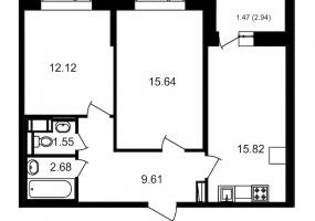 ул. Невзоровой2, 2 Комнаты Комнаты,Квартира,Купить,ул. Невзоровой,11,12997
