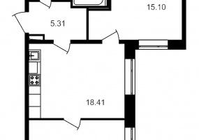 ул. Невзоровой2, 2 Комнаты Комнаты,Квартира,Купить,ул. Невзоровой,1,13004