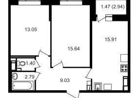 ул. Невзоровой2, 2 Комнаты Комнаты,Квартира,Купить,ул. Невзоровой,11,13008