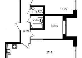 ул. Невзоровой2, 2 Комнаты Комнаты,Квартира,Купить,ул. Невзоровой,1,13019