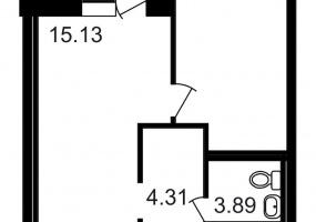 ул. Шоссе в Лаврики7, 1 Помещение Комнаты,Квартира,Купить,ул. Шоссе в Лаврики,10,13154