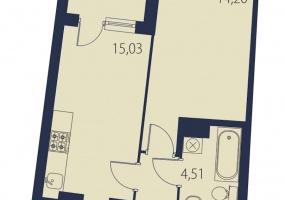 ул. БрюлловскаяА, 1 Помещение Комнаты,Квартира,Купить,ул. Брюлловская,11,16521