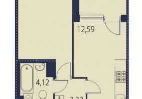 ул. БрюлловскаяБ, 1 Помещение Комнаты,Квартира,Купить,ул. Брюлловская,25,16542