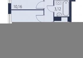 ул. БрюлловскаяБ, 2 Комнаты Комнаты,Квартира,Купить,ул. Брюлловская,13,16567