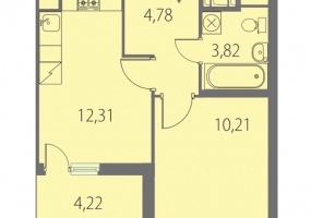 ул. Шоссейная8.1, 1 Помещение Комнаты,Квартира,Купить,ул. Шоссейная,7,16607