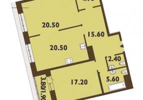 ул. Смоленская1, 2 Комнаты Комнаты,Квартира,Купить,ул. Смоленская,11,5319