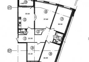 ул. Уральская3, 4 Комнаты Комнаты,Квартира,Купить,ул. Уральская,9,7597