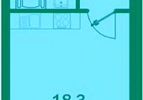 Новгородский проспект, Пушкинский, 1 Помещение Комнаты,Квартира,Купить,Новгородский проспект,14,61509
